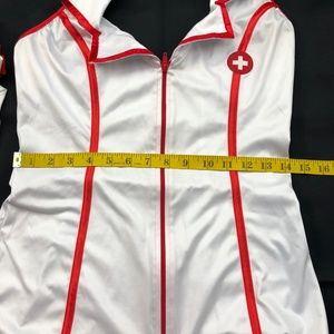 Other - Sexy Nurse Costume with Thigh Highs Sz M